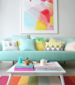 Read more about the article How To Make Spaces Pop With Colors