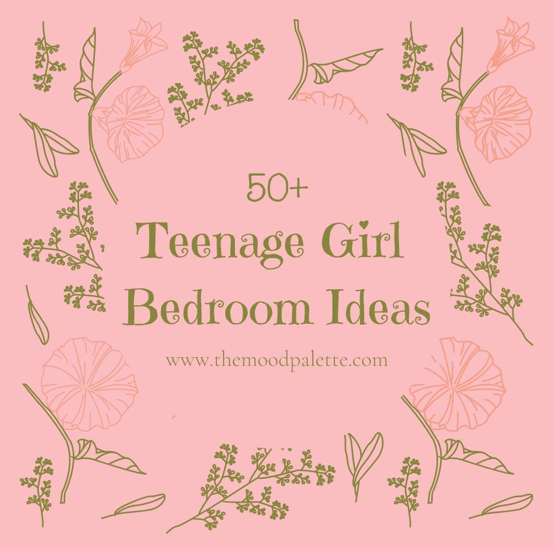 50+ Teenage Girl Bedroom Ideas