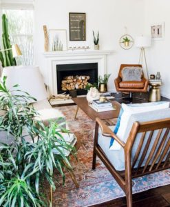 Read more about the article How To Create A Scandinavian + Bohemian Living Room