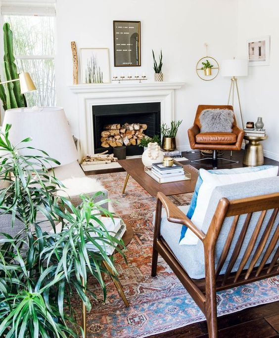 You are currently viewing How To Create A Scandinavian + Bohemian Living Room