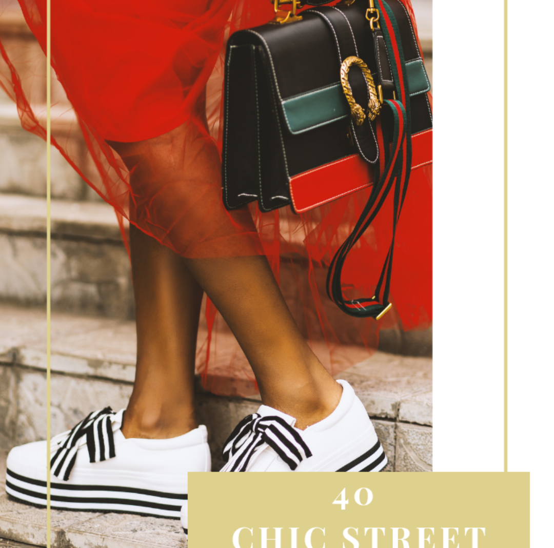 40 Chic Street Style Ideas You'd Want to Copy