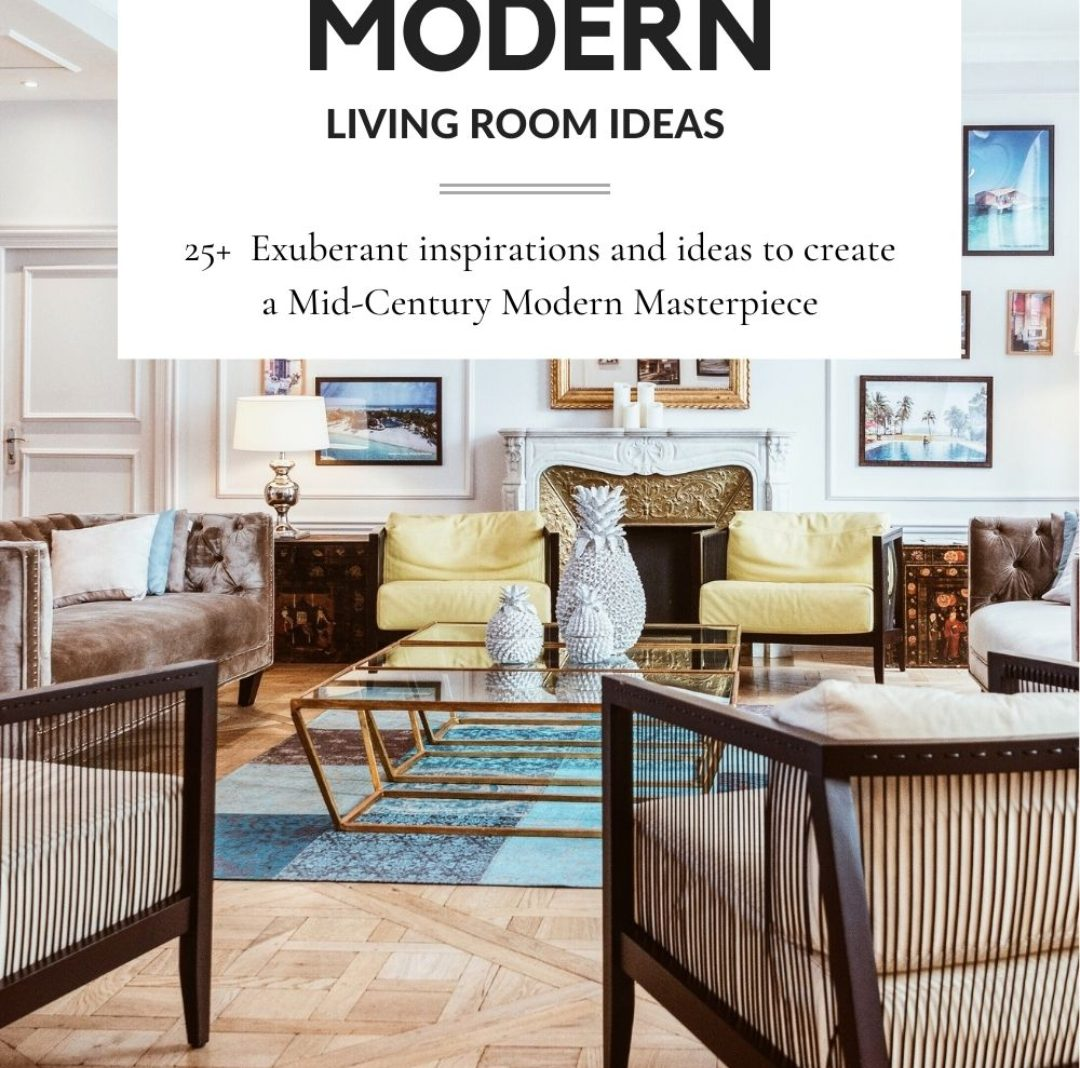 25+ Mid Century Modern Living Room Ideas