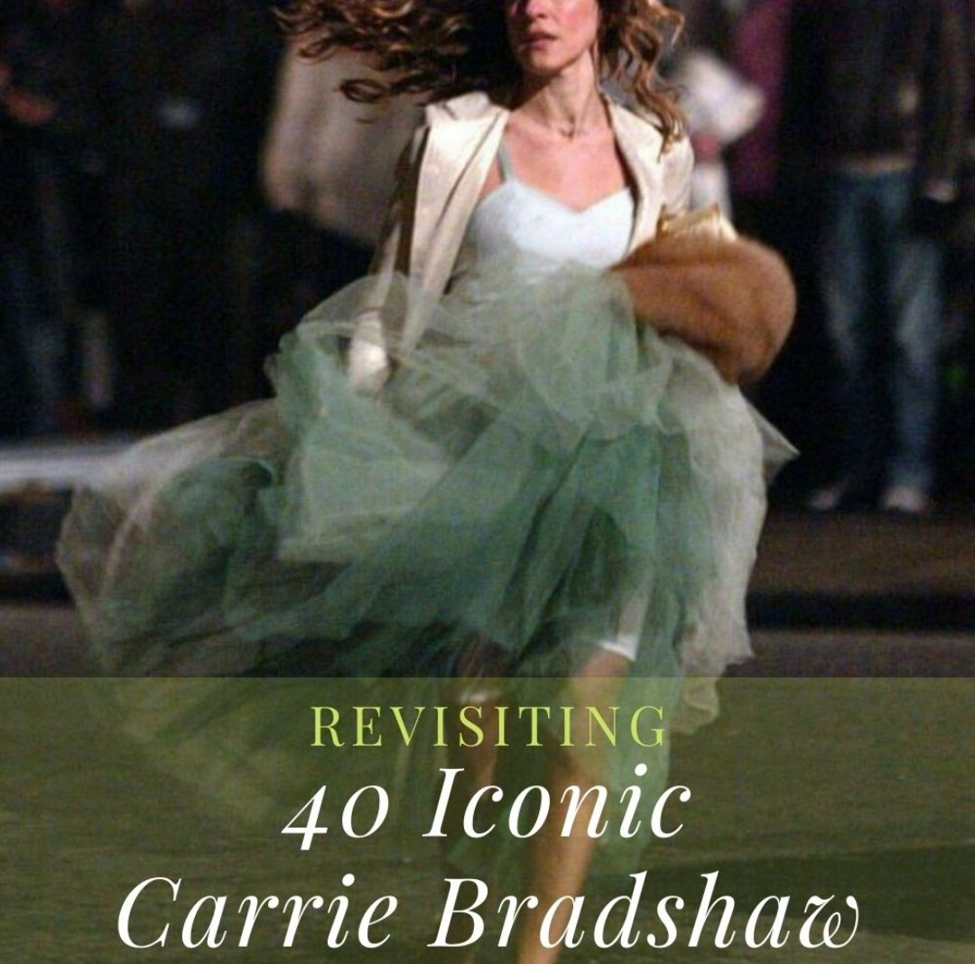 Revisiting 40 Iconic Carrie Bradshaw Outfits