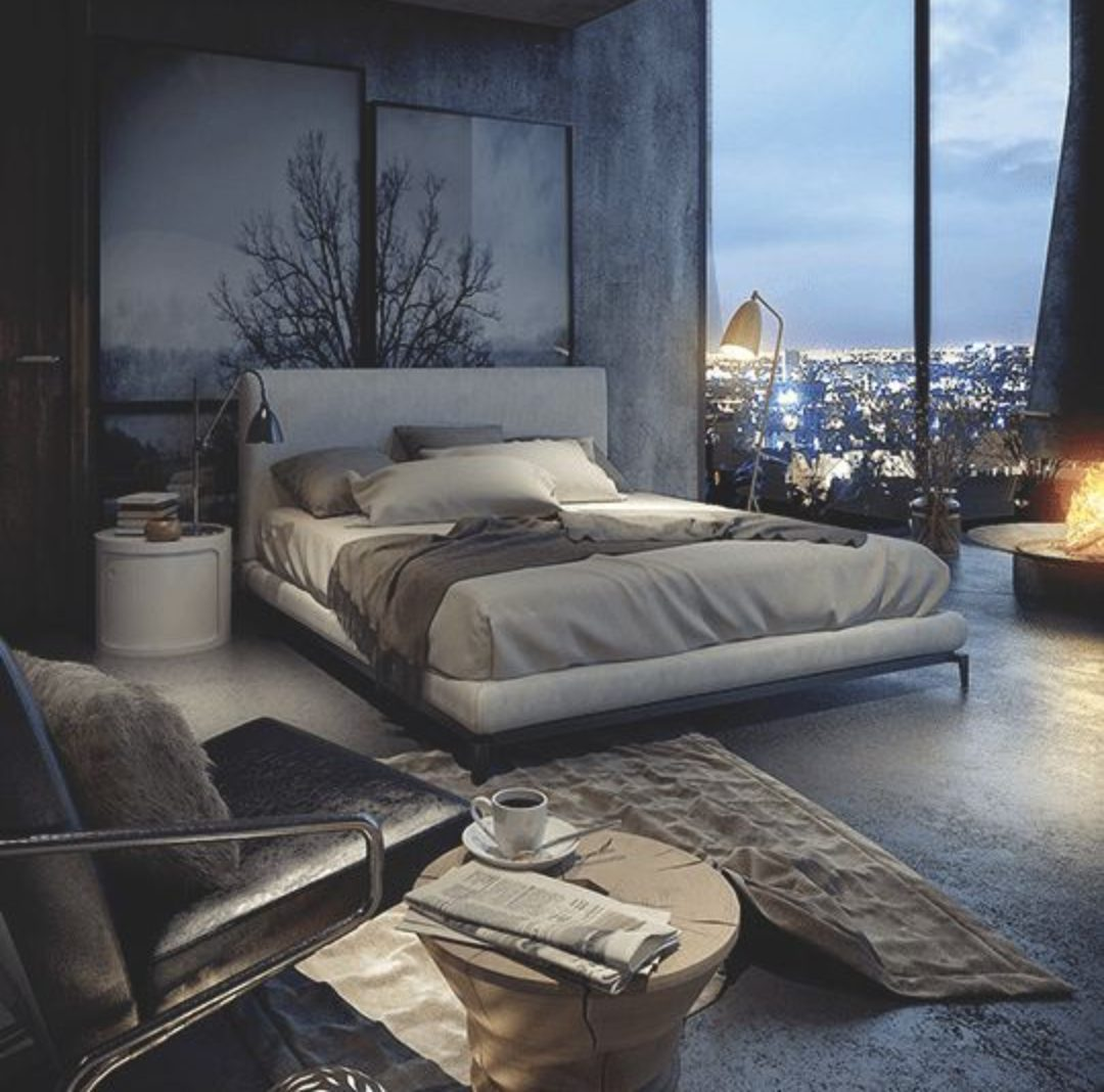 30+ Best Industrial Style Bedroom Ideas